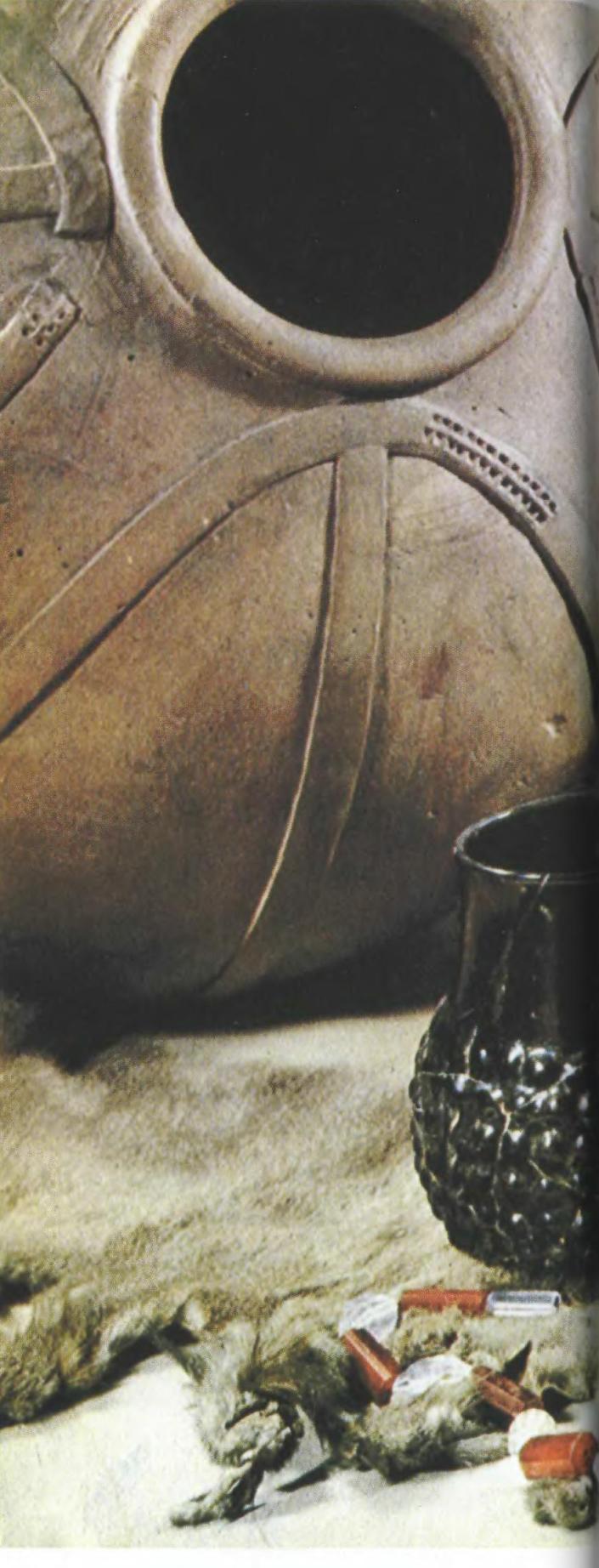 Фризская посуда, средиземноморские стеклянные бусы, западноевропейские металлические украшения, восточноевропейская пушнина — важнейшие товары балтийской торговли IX-X вв.