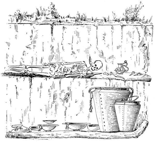 Рис. 11. Погребение из Гальштатского могильника