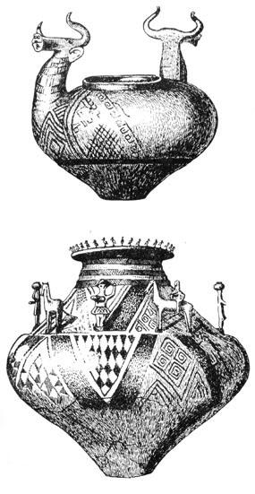 Рис. 12. Урна из могильника у Гемейнлебарна (Австрия)