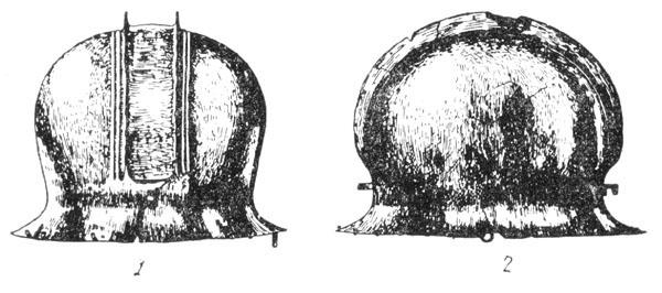 Рис. 15. Бронзовый шлем из Гальштатского могильника