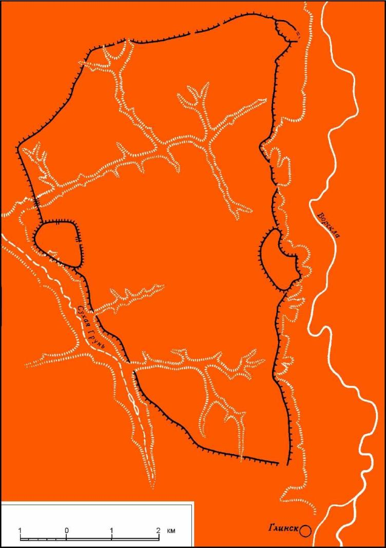 План города Гелона