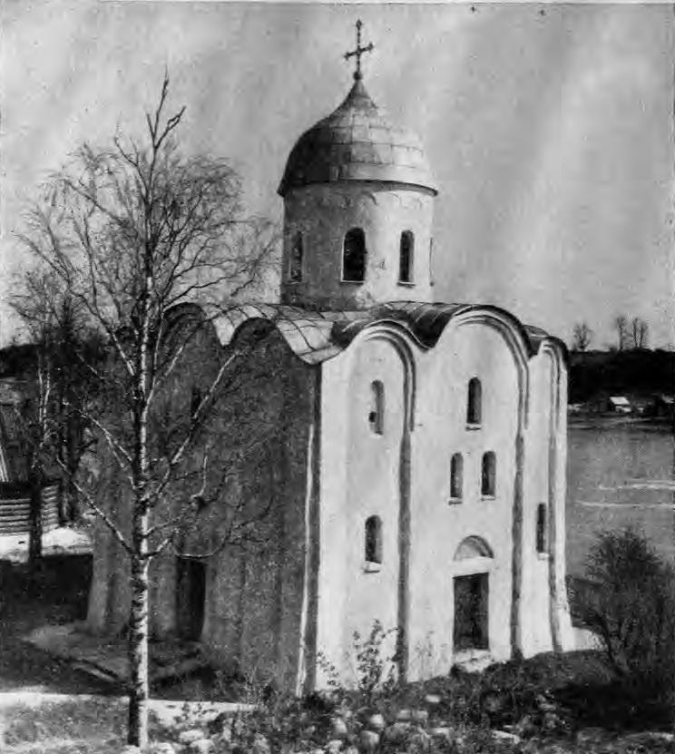 Арки церкви святого георгия фрески