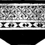 Рис. 20. Сосуд из нижнего слоя поселения у Глины (культура Боиан).