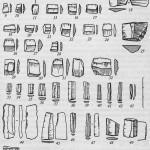 Неолит Камчатки: изделия из халцедона, обсидиана и кремния с поселения Авача (по Т.М. Диковой)