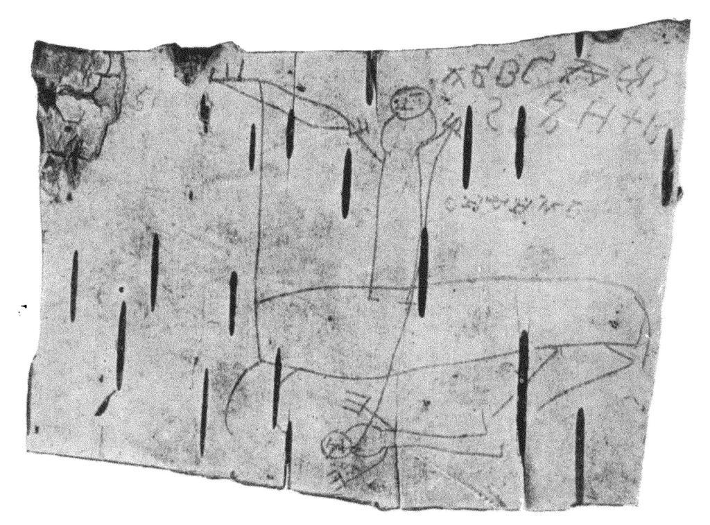 Рис. 7. Грамота № 200 (фото)