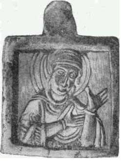 Каменная иконка. (Увеличено.)