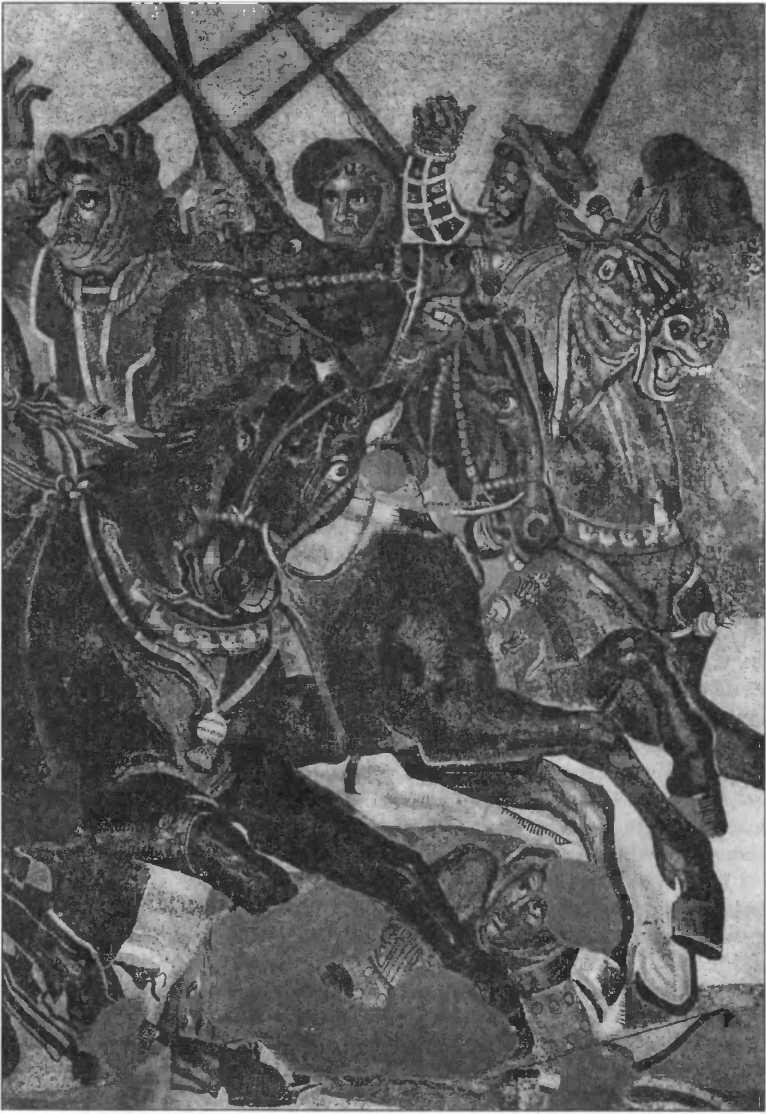 Битва при Иссе, Дом Фавнов в Помпеях