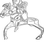 Рис. 7. Фигурка всадника из Сибирской коллекции [Руденко, 1952]