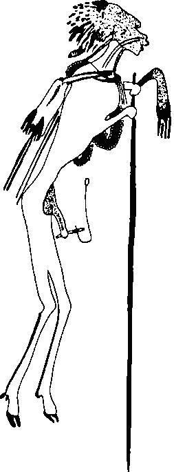 Рис. 10. Росписи бушменов. Южная Африка