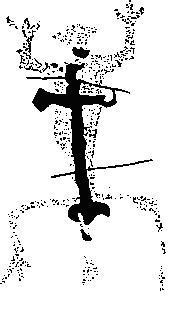Рис. 4. Наскальное изображение из Пенья Эскрито, Боливия