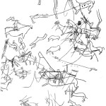 Рис. 5.22. Наскальные рисунки казахов. Гора Айракты. (по А.Г. Медоеву)