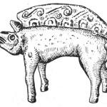 Рис. 50. Бронзовая фигурка каьана