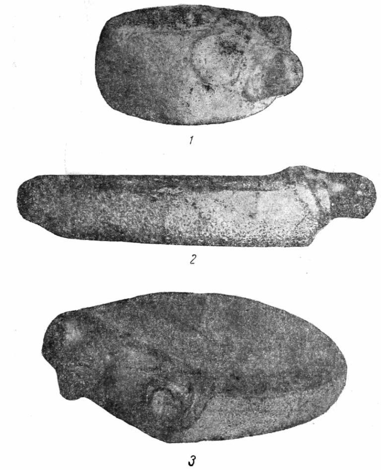 Рис. 3. Жертвенные камни Зауралья