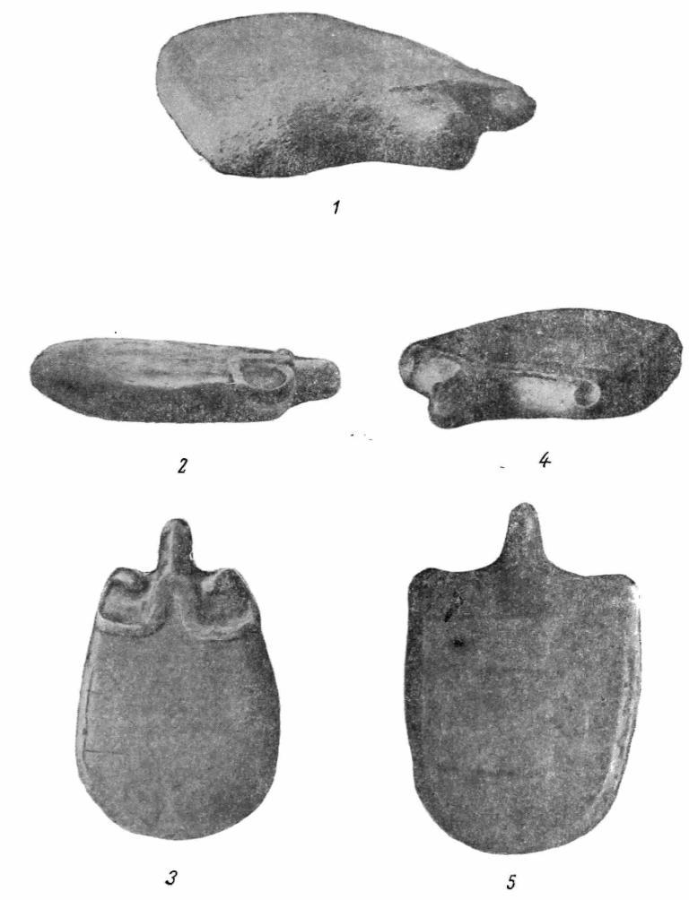 Рис. 1. Жертвенные камни Зауралья