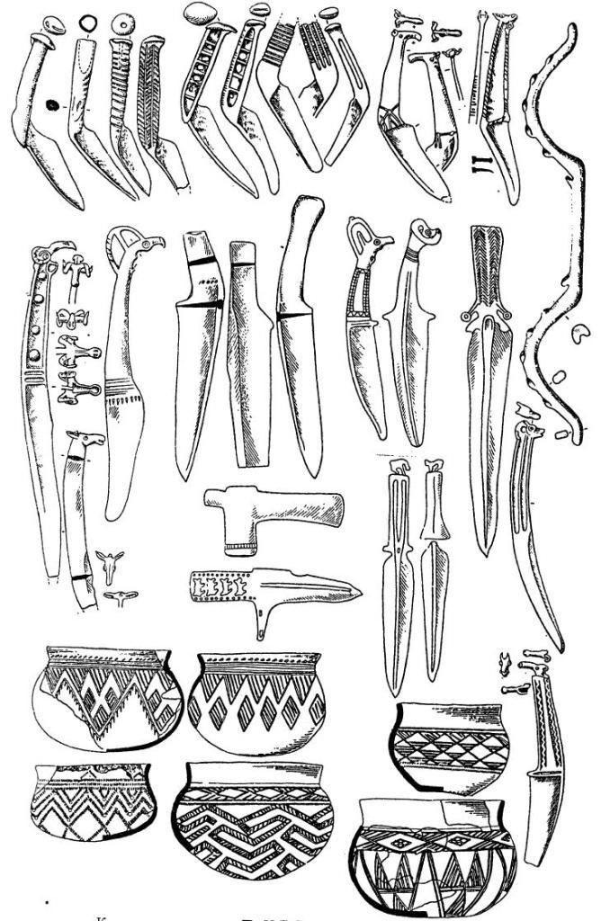 Карасукская культура. По H.Л. Членовой