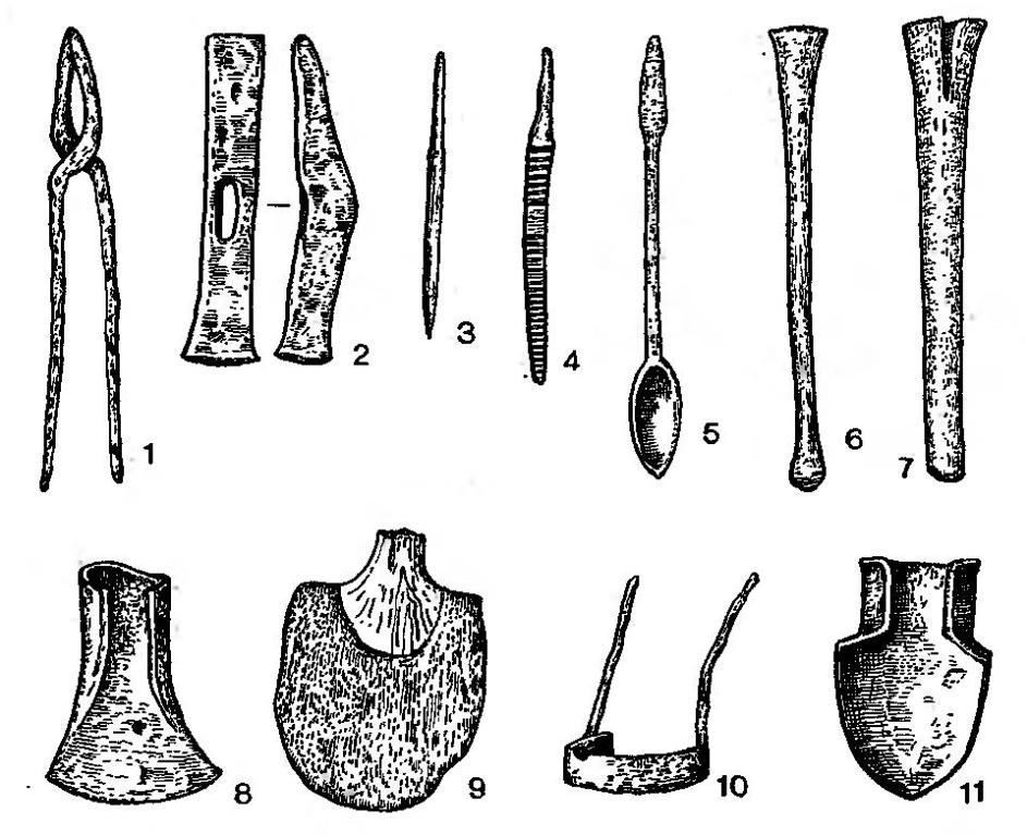 Рис. 43 Кельтские изделия (Манхинг, Бавария)