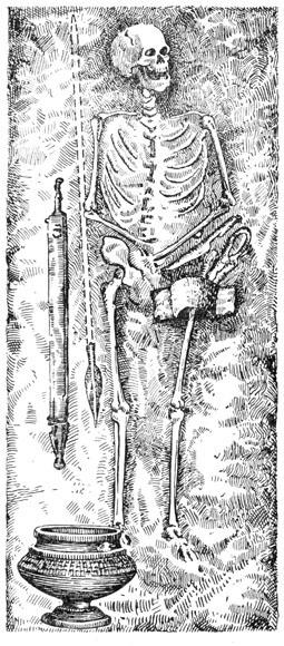 Рис. 37. Погребение Кельтского воина