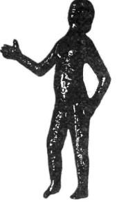 Бронзовая статуэтка. Кельтское искусство.