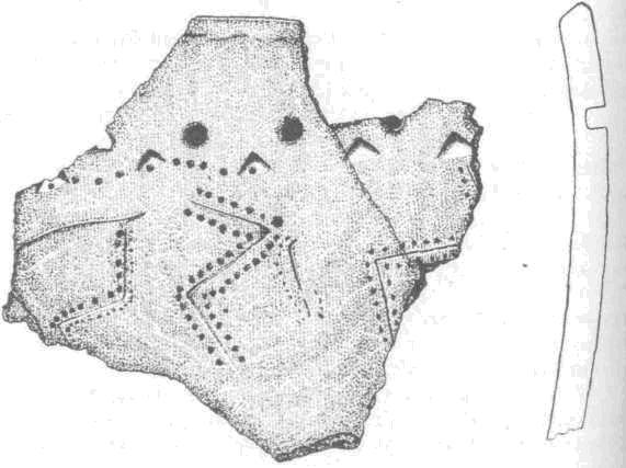 Керамика с зооморфными изображениями культового комплекса Кучерла-1
