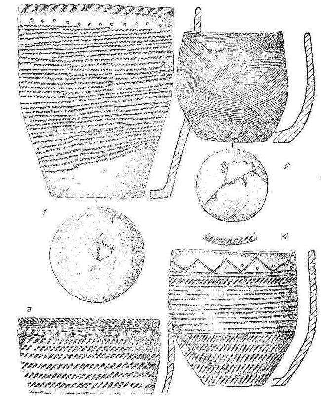 Рис. 4. Керамика могильника Сопка-2.