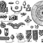 Рис. 5.9. Древности кимаков и карлуков IX—X вв.