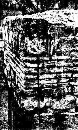Рис. 4. Джанавартепе. Кладка храма