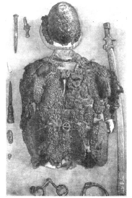 Рис.15.КольчугаизкурганаБурты(№48).