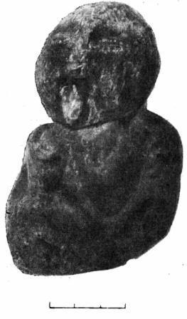 Рис. 58. Костяная статуэтка из Дагестанского музея.