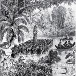 Исследование прошлого, стиль XIX века. Французские коллекционеры бросают вызов болотам Камбоджи, вывозя захваченные древние скульптуры