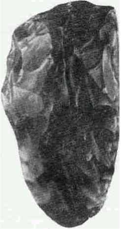 Кремневый топор из стоянки у д. Сосонка