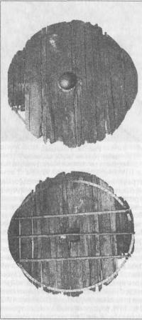 Рис. 79. Типичный круглый щит эпохи викингов