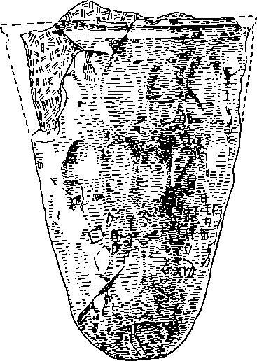 Рис. 2. Стеклянный кубок из погребения № 60