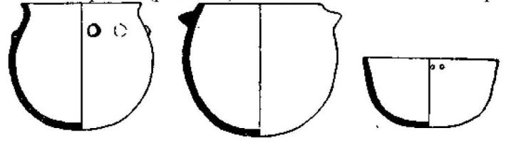 Рис. 132. Керамика культуры Кортайо. Из «Antiquity» (1/4)