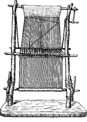 Реконструкция ткацкого станка из свайных поселений