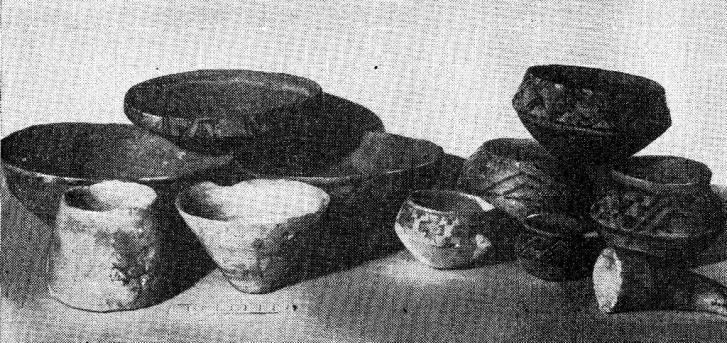 Керамика раннеземледельческих племен Средней Азии