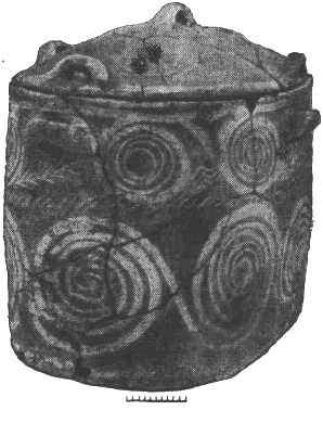 Рис. 10. Ларнак из могилы VIII среднеминойского некрополя в районе Кносса