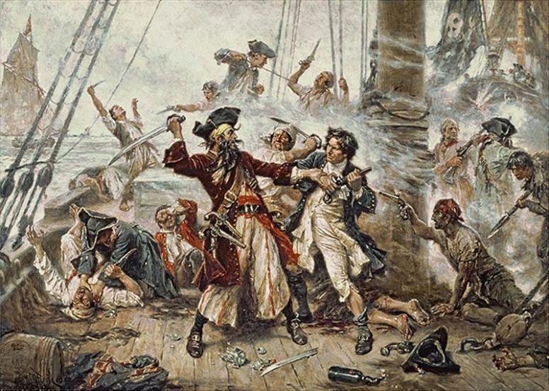 Последнее сражение капитана Черная Борода