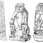 Рис. 47. Каменная скульптура Кельтов