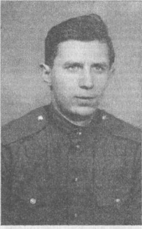 Рис. 3. Г. С. Лебедев в Советской Армии. Фото 1963 г.
