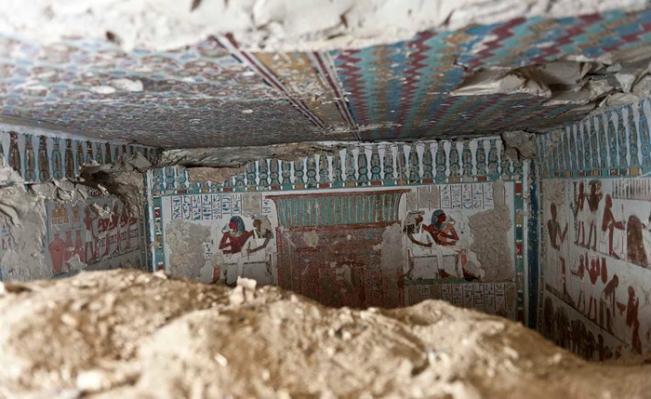 Большой зал гробницы.