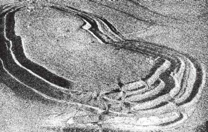 Рис. 23. Общий вид городиша Мэйдн Кастл, вторая половина I тыс. до н. э., Англия.