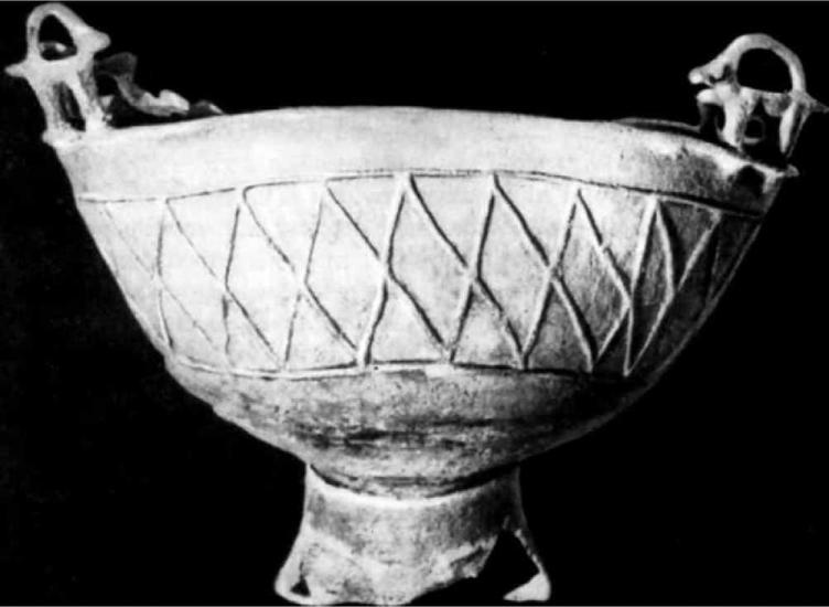 Скифский медный котел VI в. до н.э. Курган Келермес на Кубани
