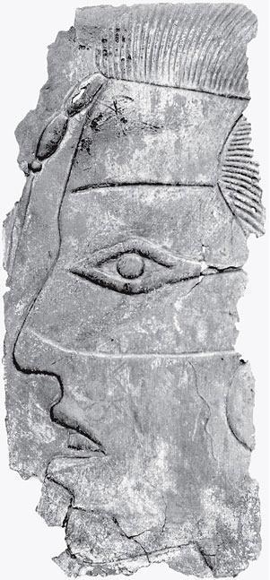 Рис. 11.12. Барельеф головы человека, выполненный на медной пластине, возможно, портрет. Культура Миссисипи. Приблизительно 1100 год н. э.
