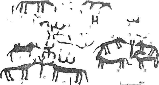 Рис. 72. Минусинская котловина. Тепсей III
