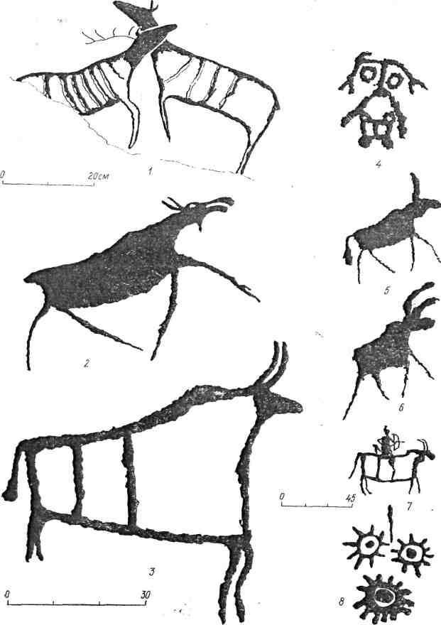 Рис. 76. Минусинская котловина. Усть-Туба II