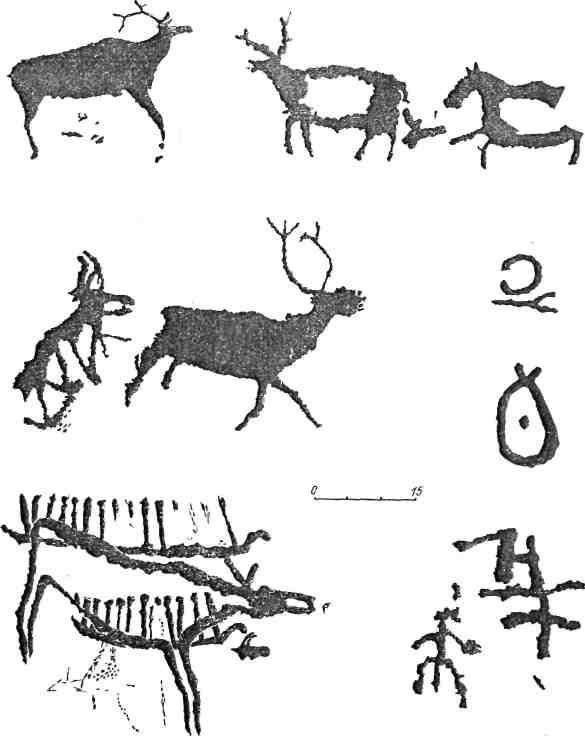 Рис. 80. Минусинская котловина. Усть-Туба III