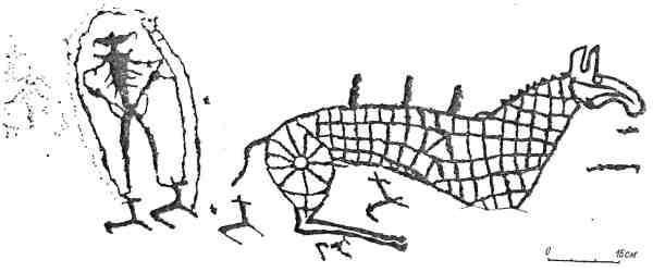 Рис. 87. Минусинская котловина. Оглахты I