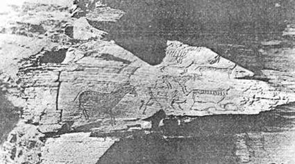 Рис. 91. Минусинская котловина. Оглахты III