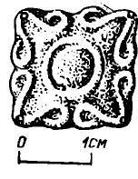 Рис. 2. Золотая бляшка