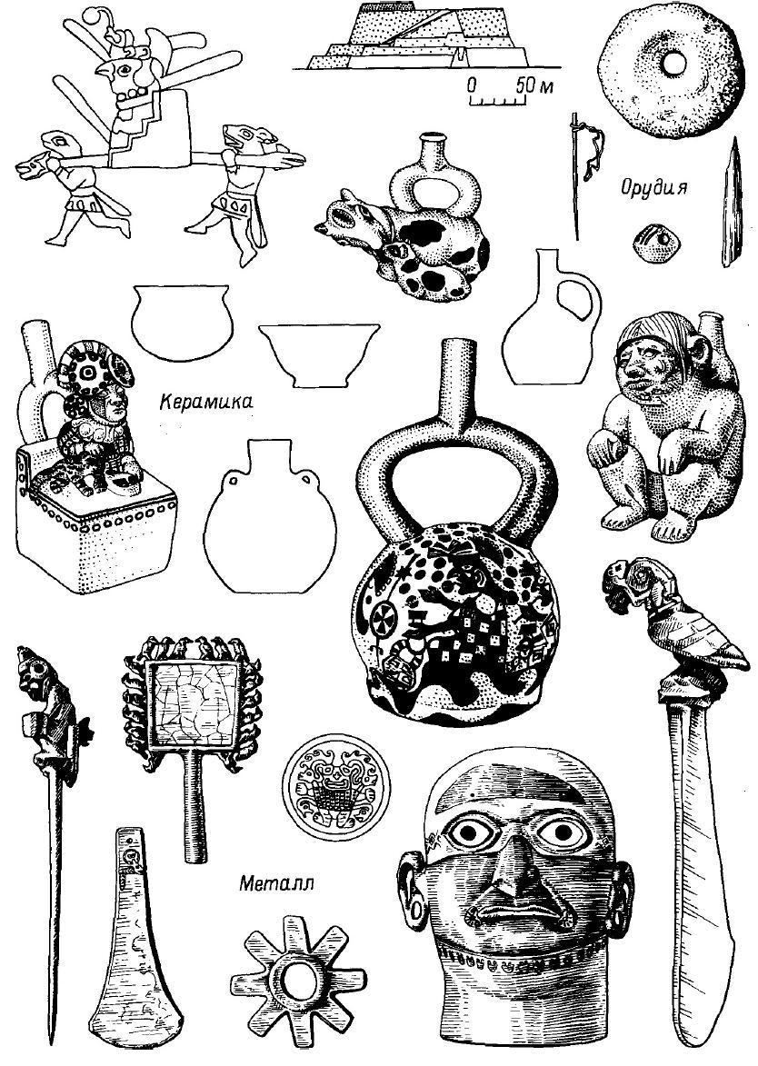Рис. 64. Комплекс цивилизации мочика.
